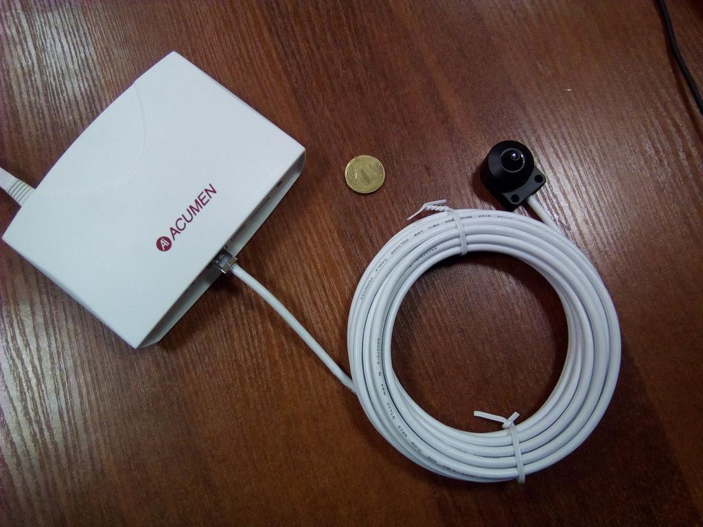 Обзор скрытой FullHD IP камеры Acumen AiP-C24W-05Y2W
