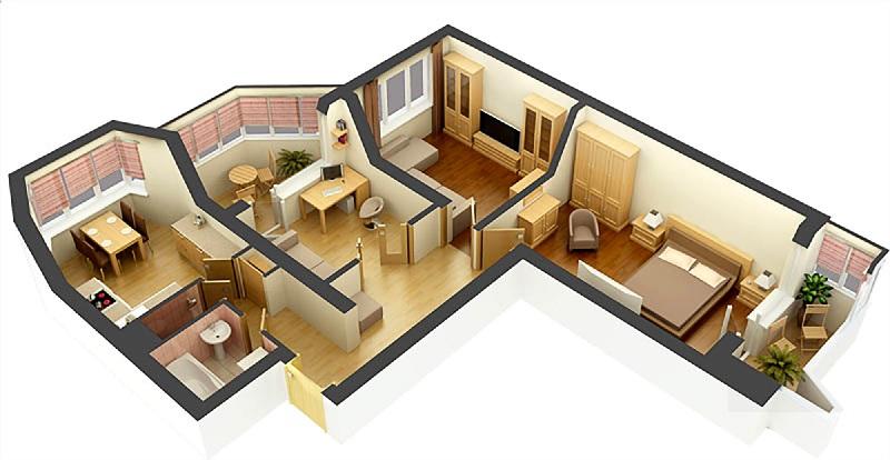 Умный дом для 3-комнатной квартиры на Larnitech - расчёт стоимости
