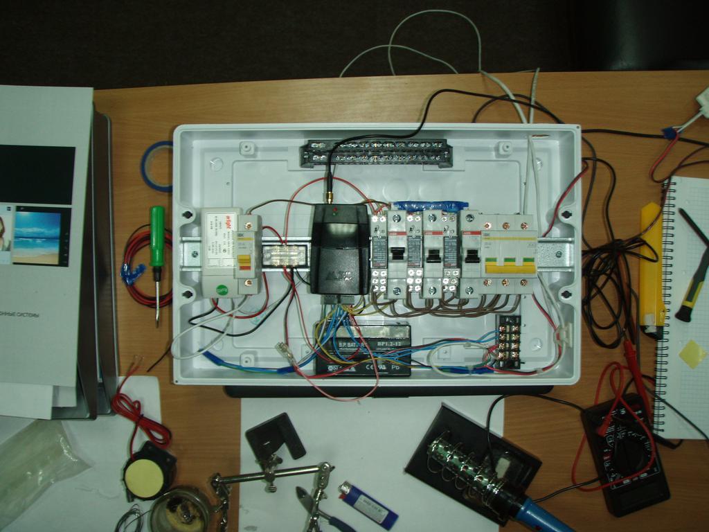 Контроль за работой контроллера Умного Дома