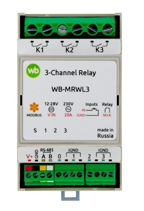 Wirenboard WB-MRWL3