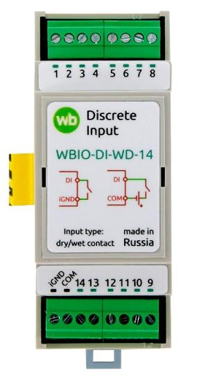 Wirenboard WBIO-DI-WD-14