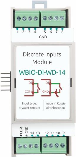 Модуль Wirenboard WBIO-DI-WD-14