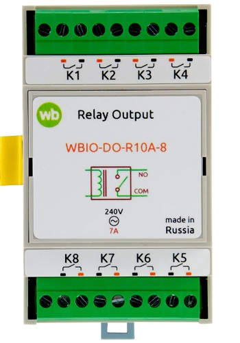 Wirenboard WBIO-DO-R10A-8