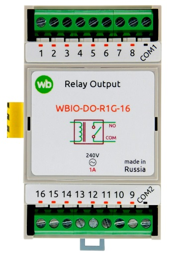 Wirenboard WBIO-DO-R1G-16