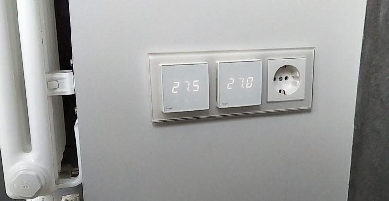 Термостат теплого пола Heatit с Z-Wave