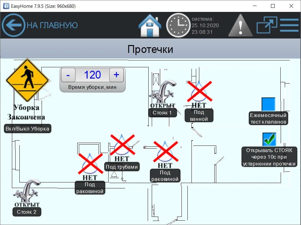 Умный Дом и контроль протечки воды - интегрированный или отдельный?